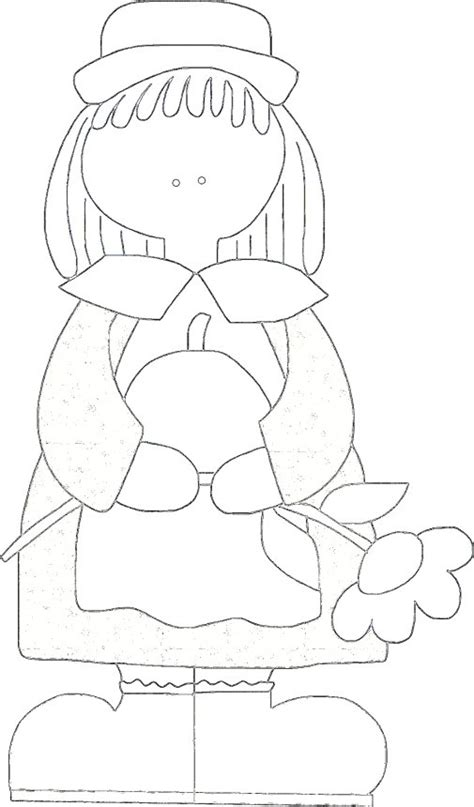 girl turkey coloring page girl pilgrim thanksgiving coloring page freecraftz com