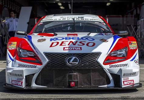 lexus racing car denso lexus rcf gt500 racing cars f1 rally