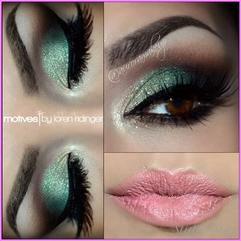 Eyeshadow For Dress makeup color for green dress stylesstar