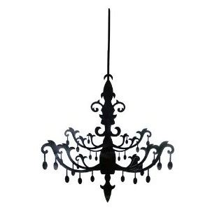 Damask Chandelier Drawings Polyvore
