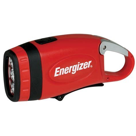 Lu Emergency Energizer energizer weatheready carabineer crank flashlight