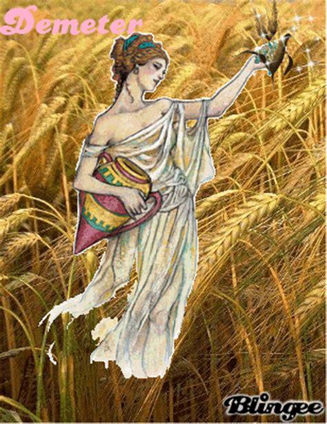 harvest of demeter goddess symbol demeter goddess of the harvest picture 124571293