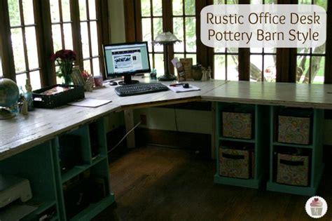 diy rustic office desk diy homemade office desk plans plans free
