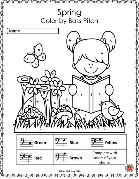 elementary music coloring pages 1000 images about muzieklessen on pinterest elementary