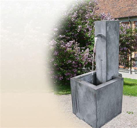 standbrunnen f 252 r den garten aus edlem zink kaufen