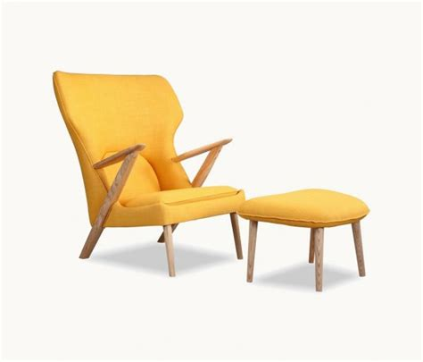 yellow chair with ottoman 40 beautiful modern accent chairs that add splendour to