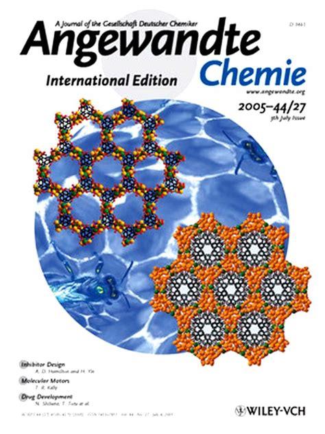 angew chem int ed template publications supermolecules