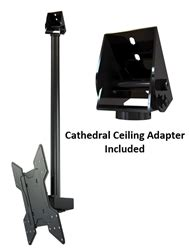 cathedral ceiling tv mount cathedral ceiling tv mount bracket kit for tvs