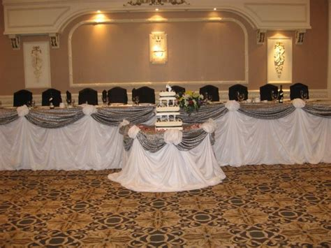 decorating the head table at a wedding reception ehow 17 best images about head table decor on pinterest