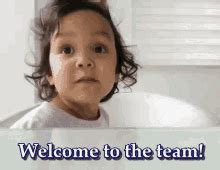 Team Tenor welcome to the team gifs tenor