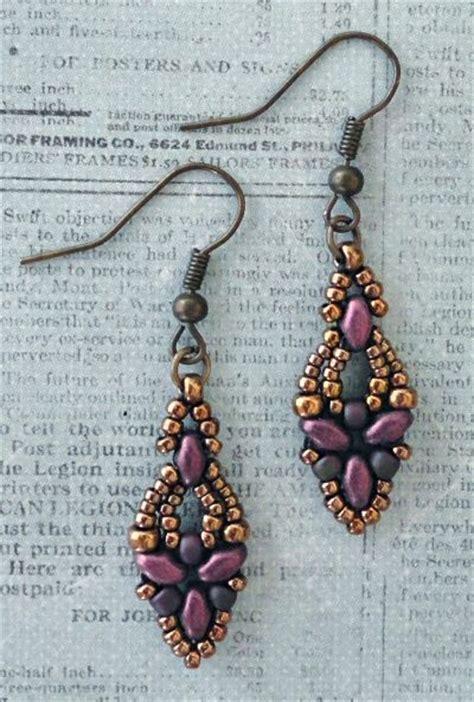 25 best ideas about beaded earrings patterns on