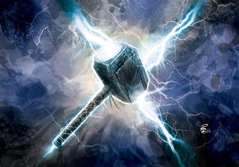 universo hq o martelo mjolnir marvel comics