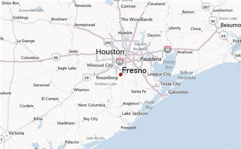 fresno texas map fresno texas location guide