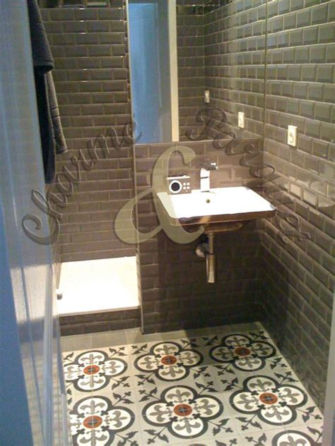 Tiny Bathrooms Ideas by 17 Best Images About Carreaux De Ciment On Pinterest