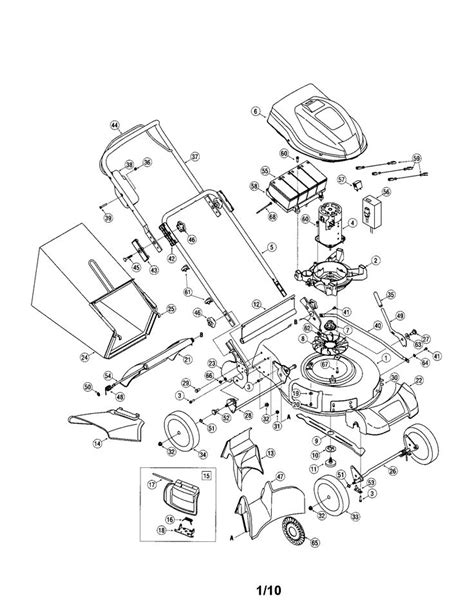 briggs and stratton lawn mower engine parts diagram briggs stratton hp engine parts model e sears html