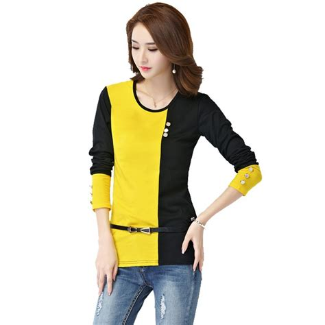 Blouse 2 Colour s casual sleeve casual work blouse two colors