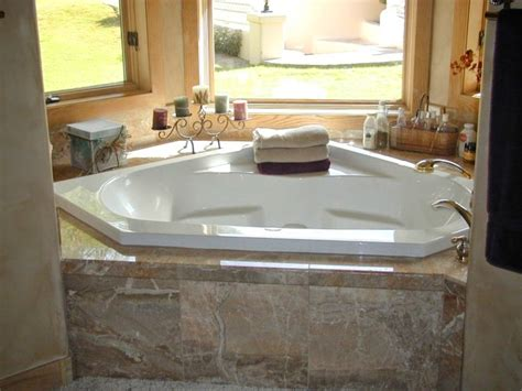 Bathtubs Idea Awesome Corner Jacuzzi Tub Jetted Bathtubs Corner Tub Bathroom Ideas