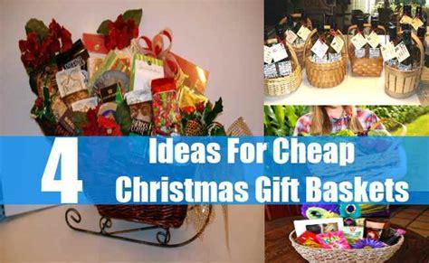 Cheap christmas gift baskets how to make inexpensive christmas gift