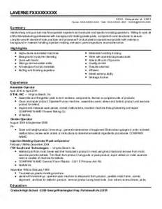 mold setter resume exle delphi youngstown ohio