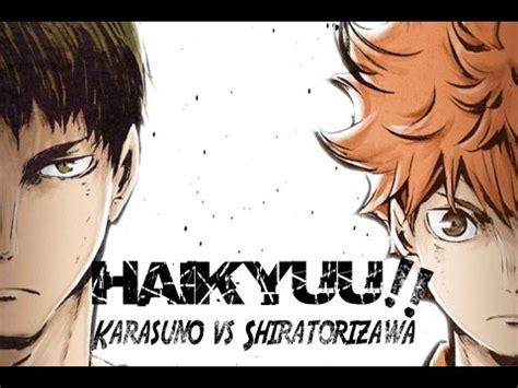Haikyuu S3 Karasuno Vs Shiratorizawa anime amv haikyuu s3 karasuno vs shiratorizawa ᴴᴰ