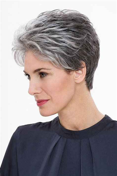 12 best images about grey hairstyles on pinterest her pixie hairstyles for gray hair fade haircut