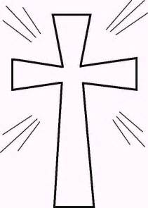 color cross picture of a cross to color clipart best