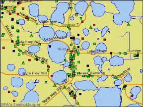 map of florida winter deboomfotografie