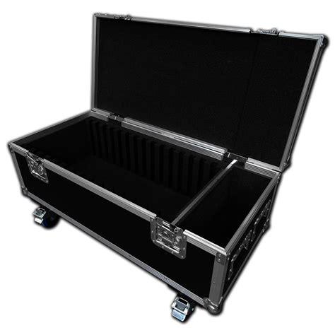 Handmade Laptop Cases - 15 way custom laptop flight with 4 quot castors