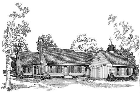 small colonial cape cod house plans home design hw 2162