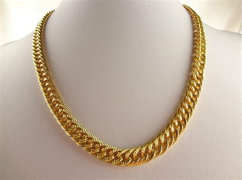 gold chain choker necklace by necklace gold chain hip hop chunky luxury designs gold