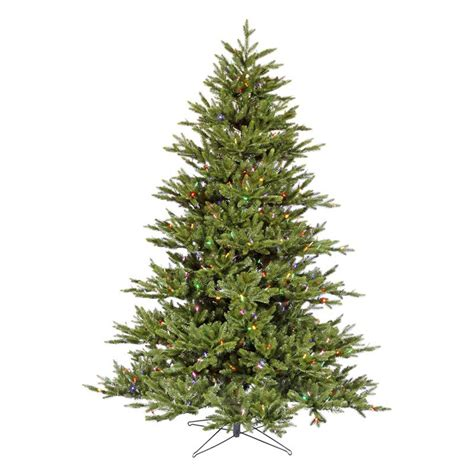 noble fir pre lit led christmas tree at hayneedle