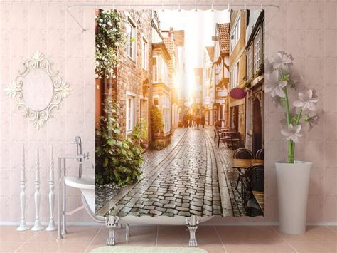 unique curtain hanging ideas unique shower curtains horse shower curtain nature shower