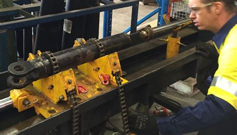 hydraulic cylinder test bench hydraulic cylinder repair now available at trs linkedin