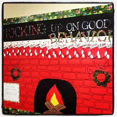 unwrap good behavior christmas bulletin board 17 best images about december bulletin boards on can lights reindeer and library