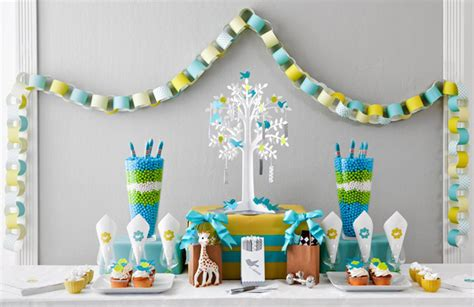 Blue And Green Baby Shower Decorations by Green Baby Shower The Cool Theme For Your Shower Baby