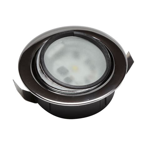 led chrome eyeball light 12 24v with nightlight