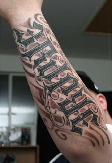 tattoo generator arm 36 best lettering tattoo design images on pinterest