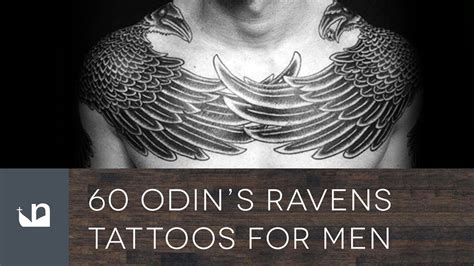 60 odin s ravens tattoos for men youtube