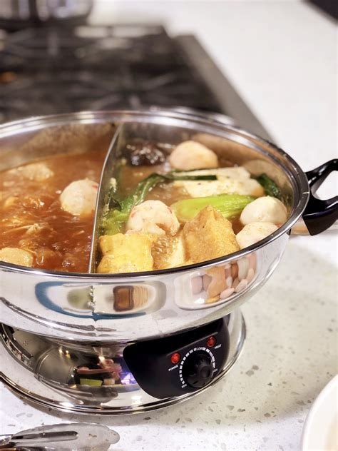 chinese hot pots  peanut sauce cooking  chef bryan
