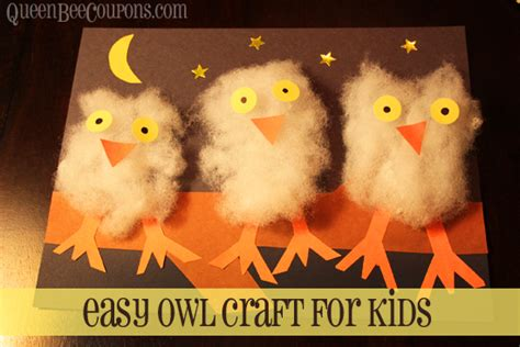 Ease By Owl Book Store easy owl craft for make your own line up of owls