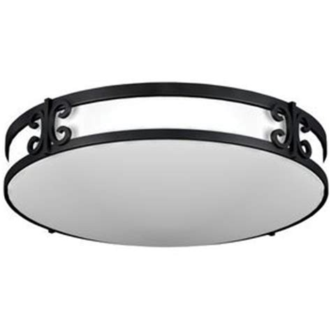 aclf2232bkt clover flush mount ceiling light black iron