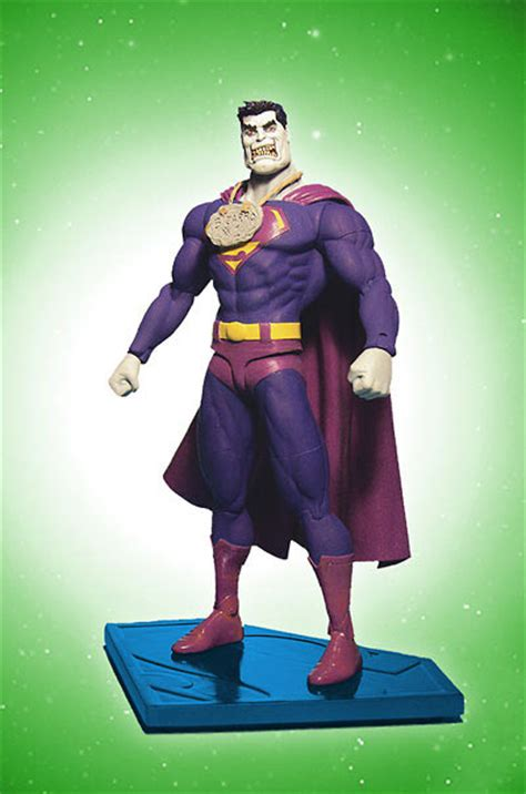 Superman Bizzaro Figure Raving Maniac The News And Pictures From The