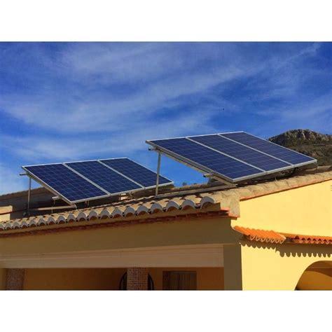 tiendas de paneles solares soportaci 243 n placas solares sobre cubierta inclinada tienda