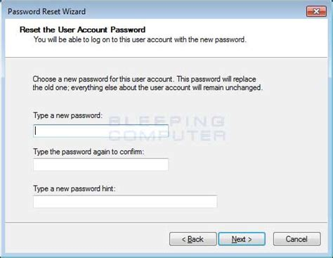 windows reset the password how to reset your windows password using a windows