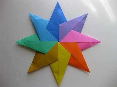 8 Point Origami - 8 point origami origami