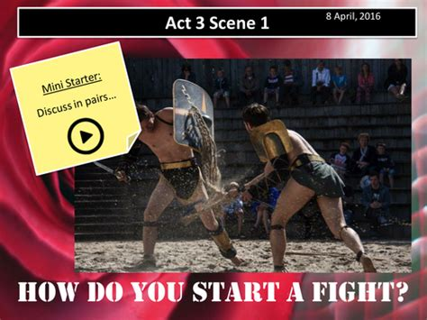 themes romeo and juliet act 3 scene 1 f j o s resources teaching resources tes