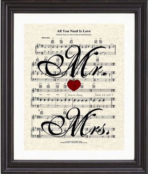 Wedding Anniversary Name Song by Custom Mrs Mrs Names Date Wedding Song