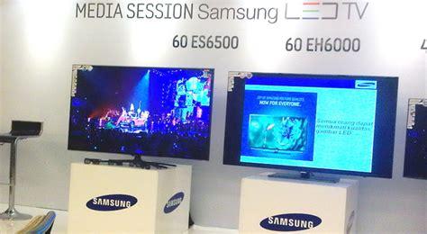 Tv Samsung Agustus samsung perkenalkan tv led layar lebar terbaru di indonesia okezone techno