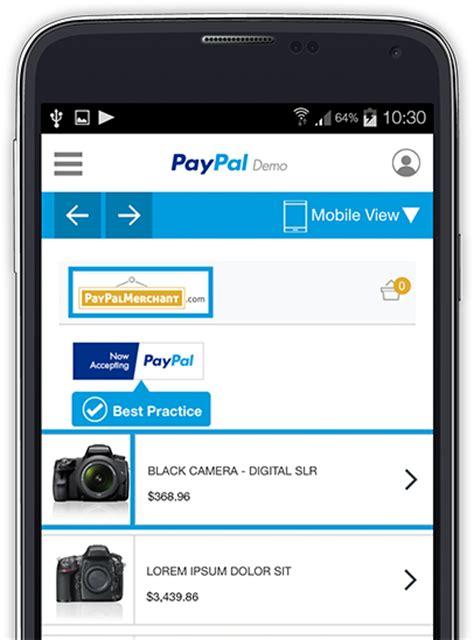 paypal mobile m commerce mobile commerce paypal de