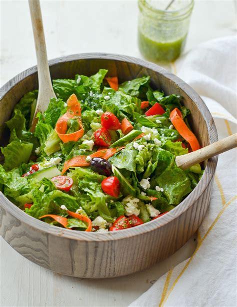 big italian salad  homemade italian dressing
